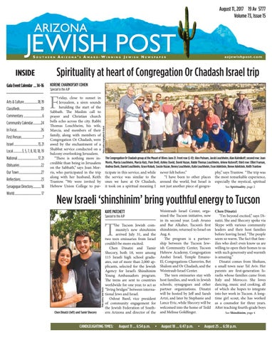 2018 by Arizona Jewish Post - issuu