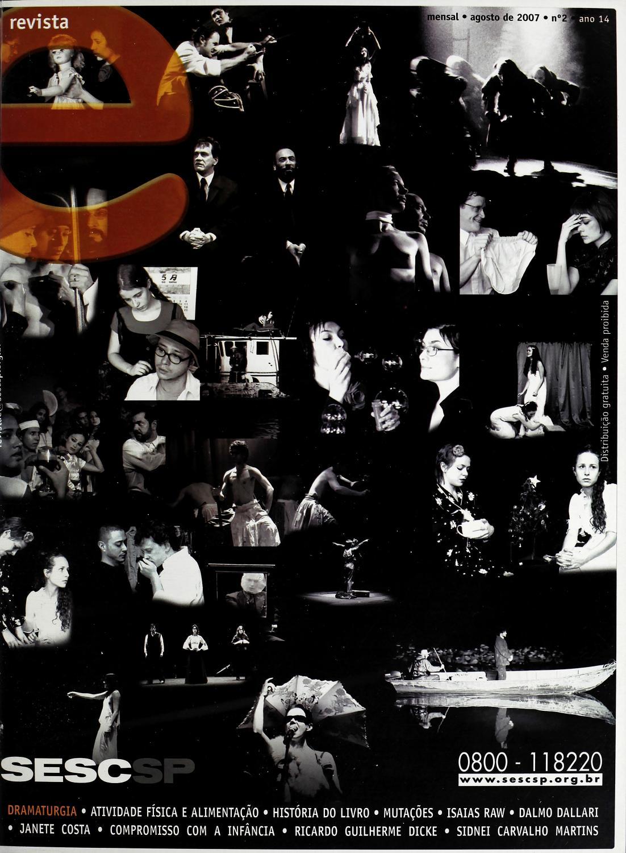 6f8b0dc0d5 Revista E - Agosto de 2007 - ANO 14 - Nº 2 by Sesc em São Paulo - issuu