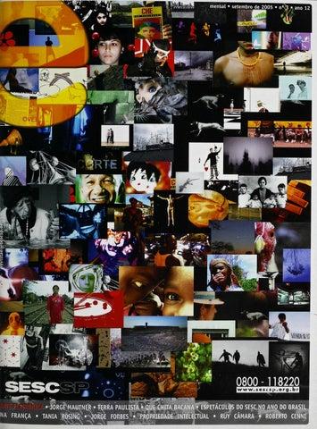 6618a7075bcb0 Revista E - Setembro de 2005 - ANO 12 - Nº 3 by Sesc em São Paulo ...