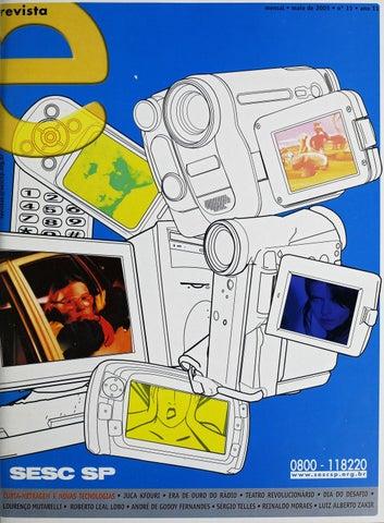 Revista E - Maio de 2005 - ANO 11 - Nº 11 by Sesc em São Paulo - issuu 7ba528a35a4cd