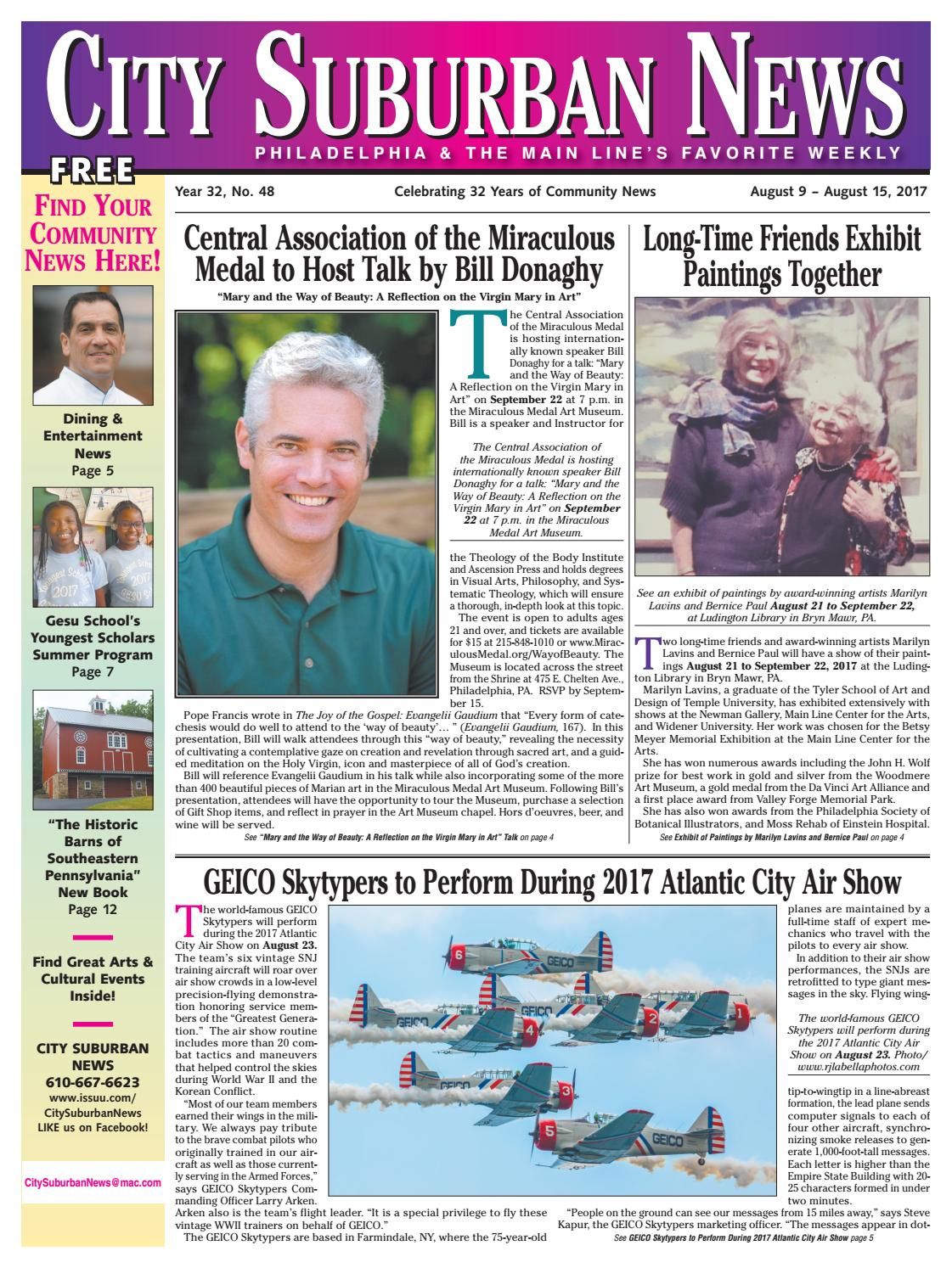 City Suburban News 8917 Issue By City Suburban News Issuu