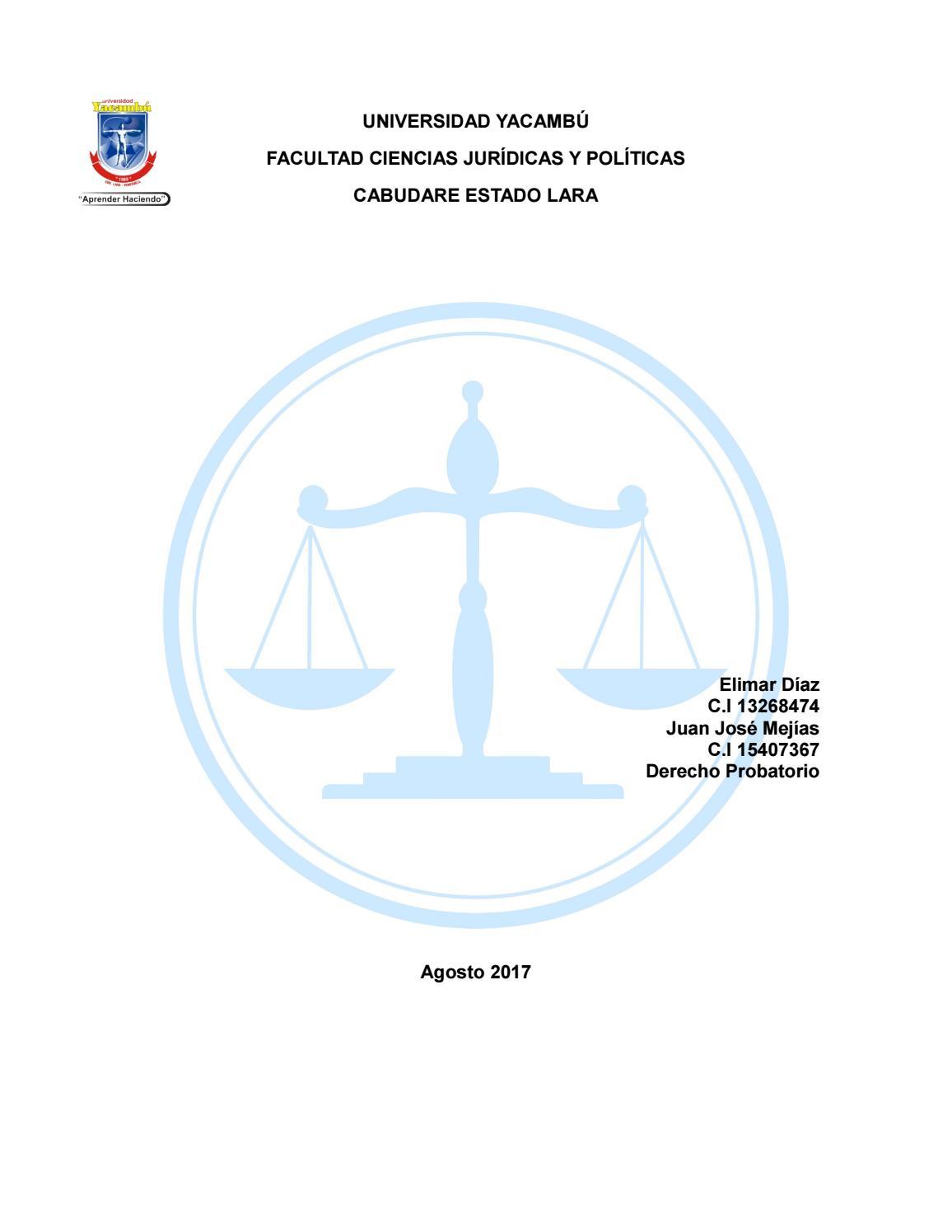 Prueba de testigo, experticia e inspeccion by marcela - issuu