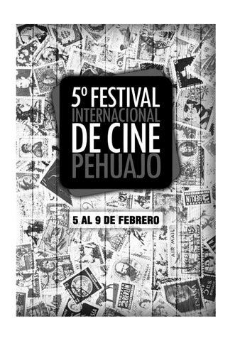 CATALOGO FIC PEHUAJO 2016 by Festival Internacional de Cine de ...