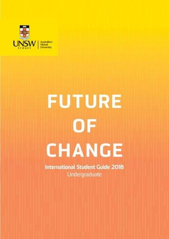 Unsw international student guide 2018 undergraduate by unsw sydney page 1 fandeluxe