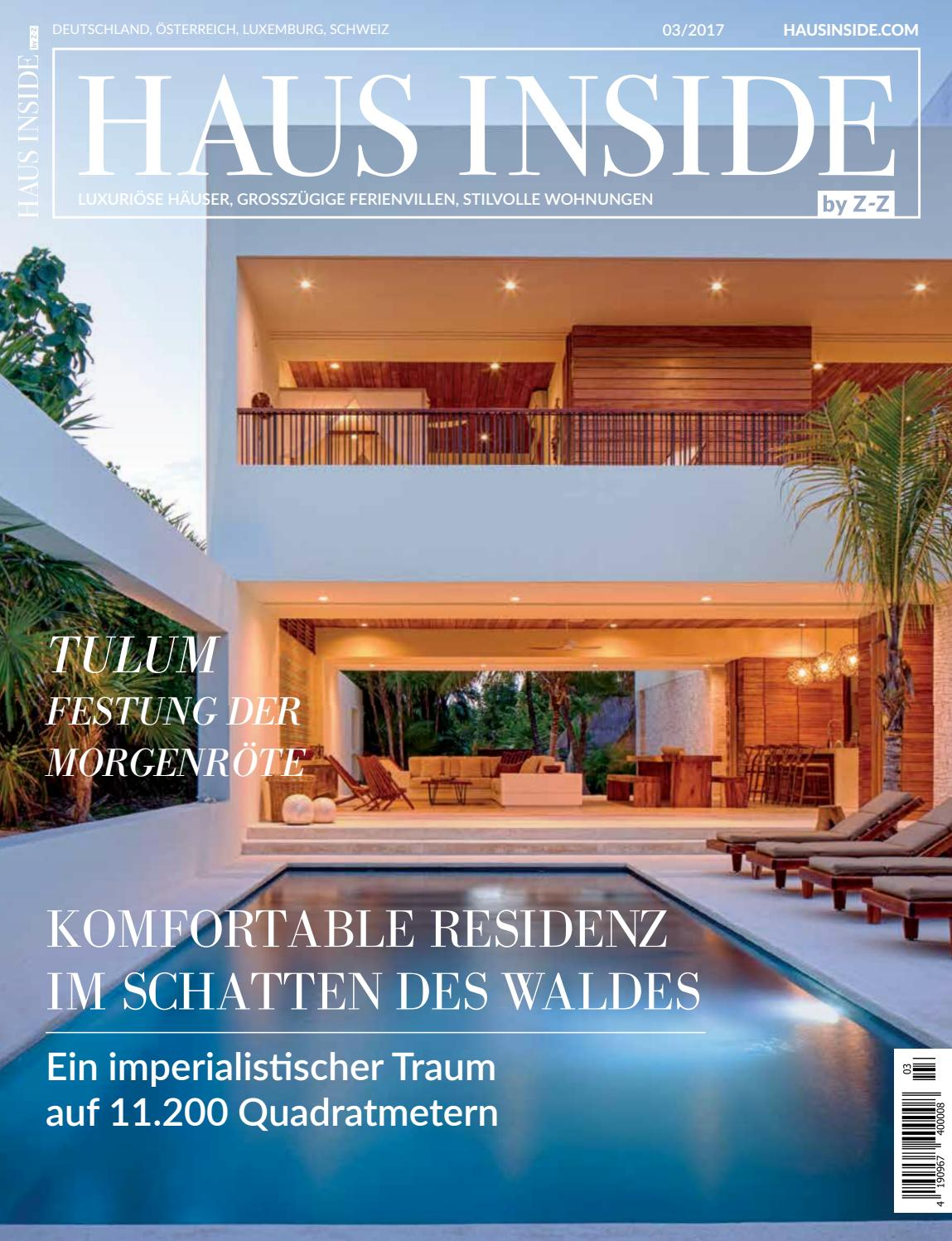 HAUS INSIDE by Z-Z Sommer 2017 by HAUS INSIDE - issuu