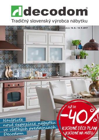 377f6fa0098a Akciový leták Decodom by Decodom - Slovenský výrobca nábytku - issuu
