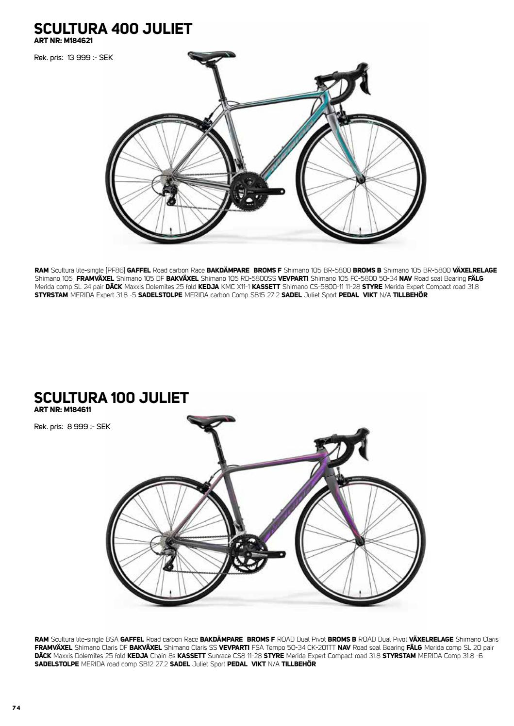 M18 merida Cyklar by Stians Sport AS - issuu