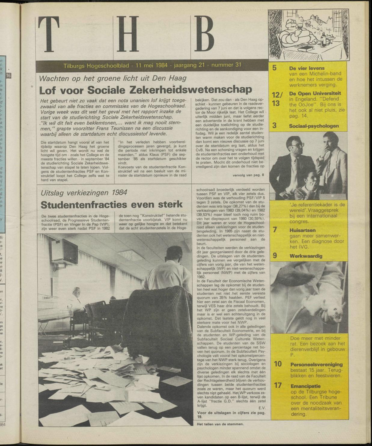1984 05 11 By Redactie Univers Issuu Gelang Karet Blanden