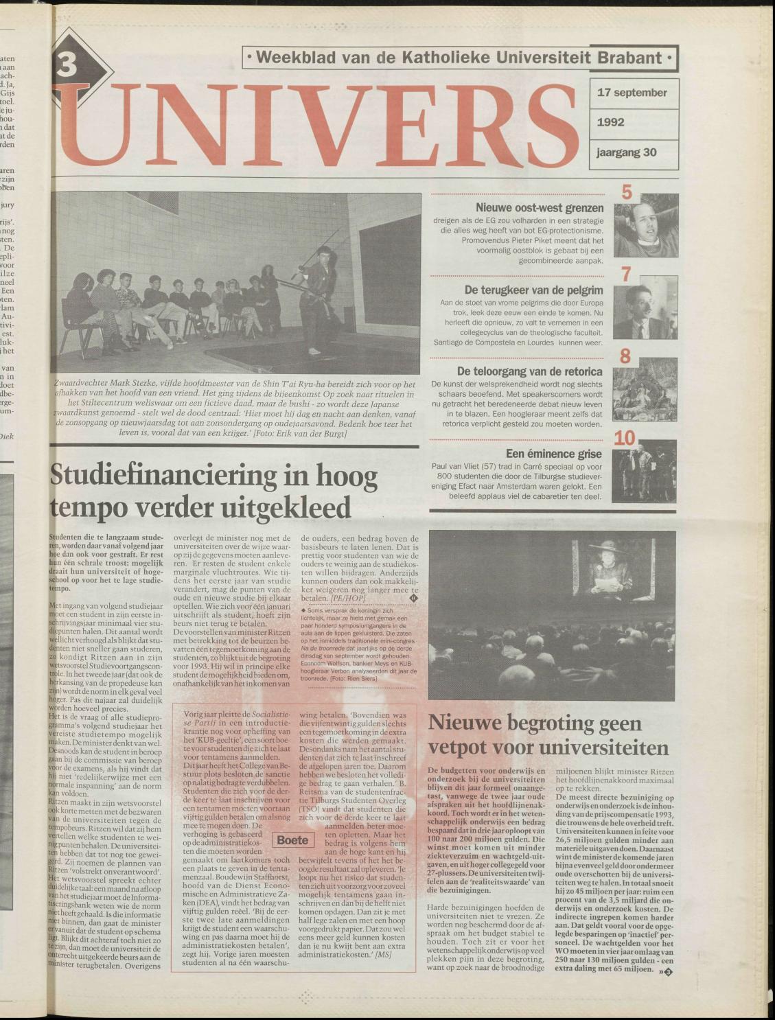 1992 09 17 By Redactie Univers Issuu