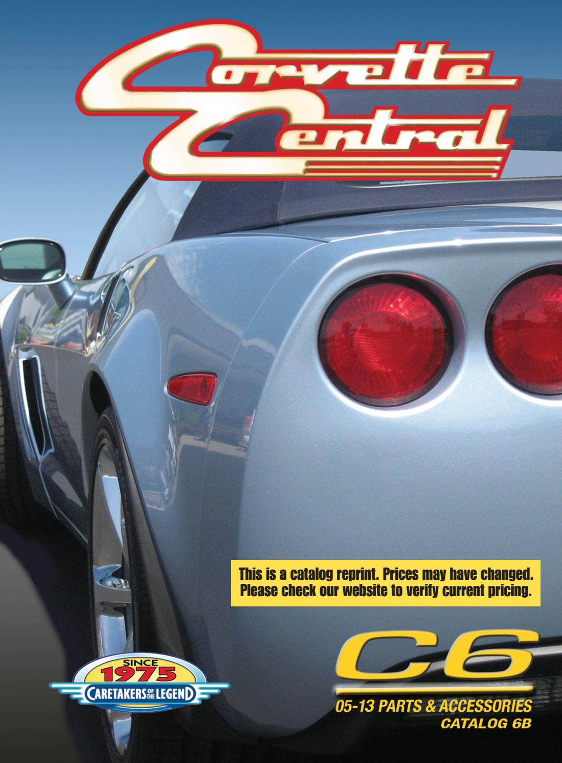 Corvette Central C6 05 13 Parts Catalog By C7 Painted Fuse Box Cover Issuu