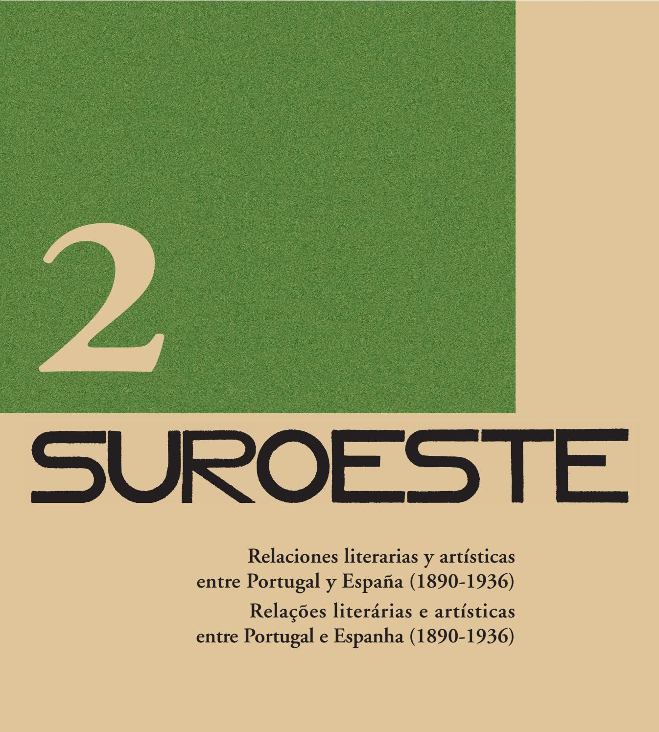 Suroeste (Volumen 2) by MEIAC - issuu d9291ff039
