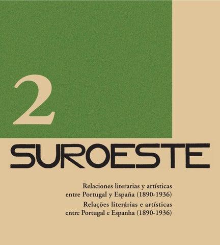 2 Relaciones literarias y artísticas entre Portugal y España (1890-1936)  Relações literárias e artísticas entre Portugal e Espanha (1890-1936) 7c07b0777904b