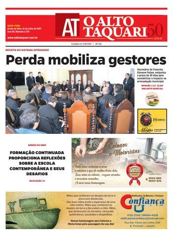 7a8df6c22 Jornal O Alto Taquari - 21 de julho de 2017 by Jornal O Alto Taquari ...