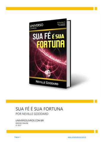 Sua fortuna neville goddard ebook pdf by lila qe issuu page 1 fandeluxe Gallery