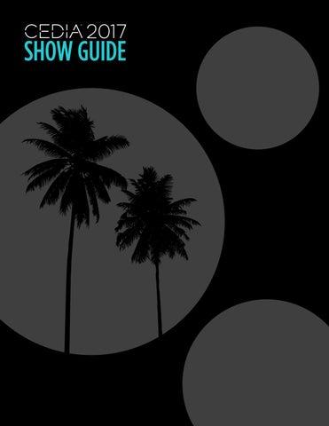 Cedia 2017 Show Guide By Cedia Issuu