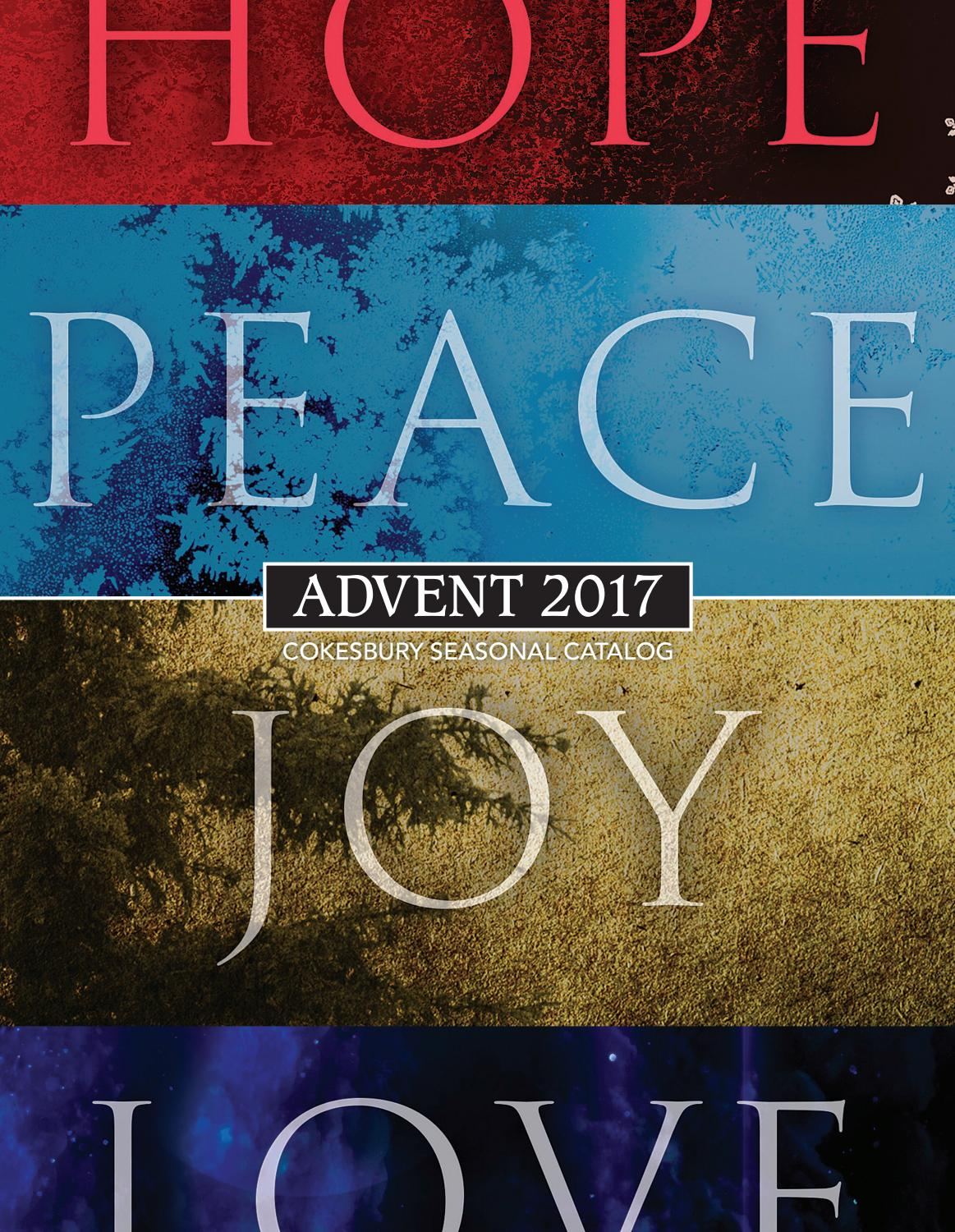 Cokesbury Seasonal Advent 2017 Catalog By United Methodist Thread Realistic Electric Flickering Pillar Candles Publishing House Issuu
