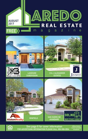 laredo real estate magazine august 2017 by laredo real estate rh issuu com