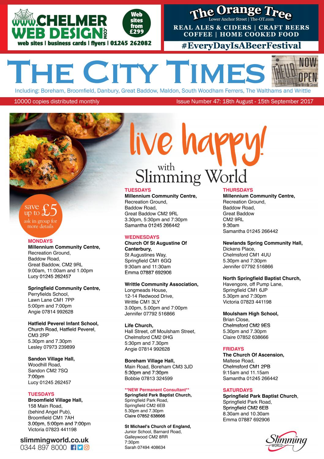 The City Times August September 2017
