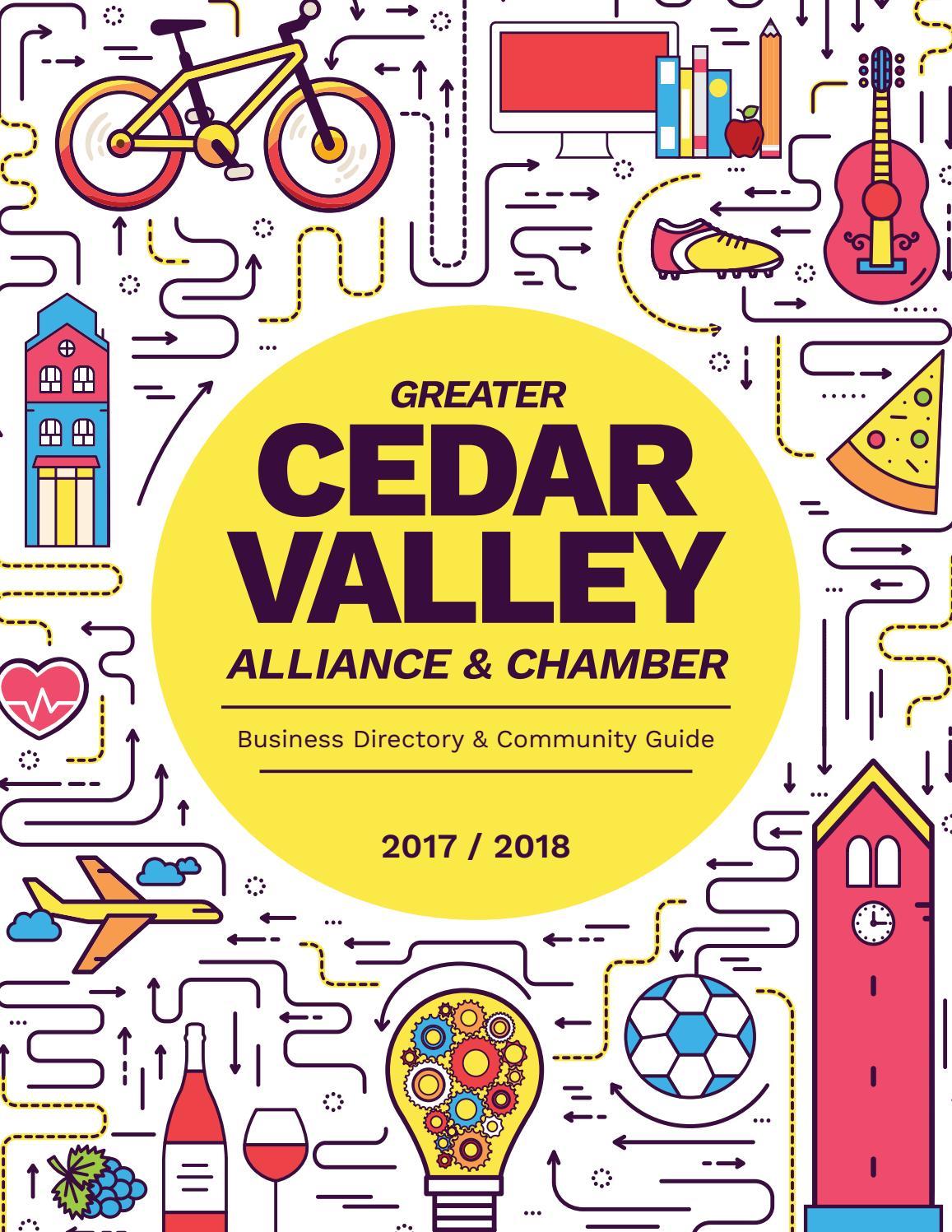 99b28abdfa GCVA Chamber Guide 2017-2018 by Waterloo-Cedar Falls Courier - issuu
