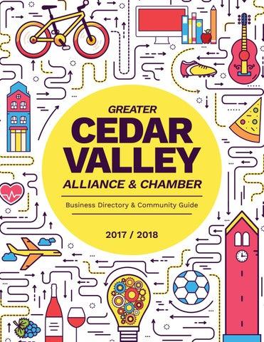 45843c140a0 GCVA Chamber Guide 2017-2018 by Waterloo-Cedar Falls Courier - issuu