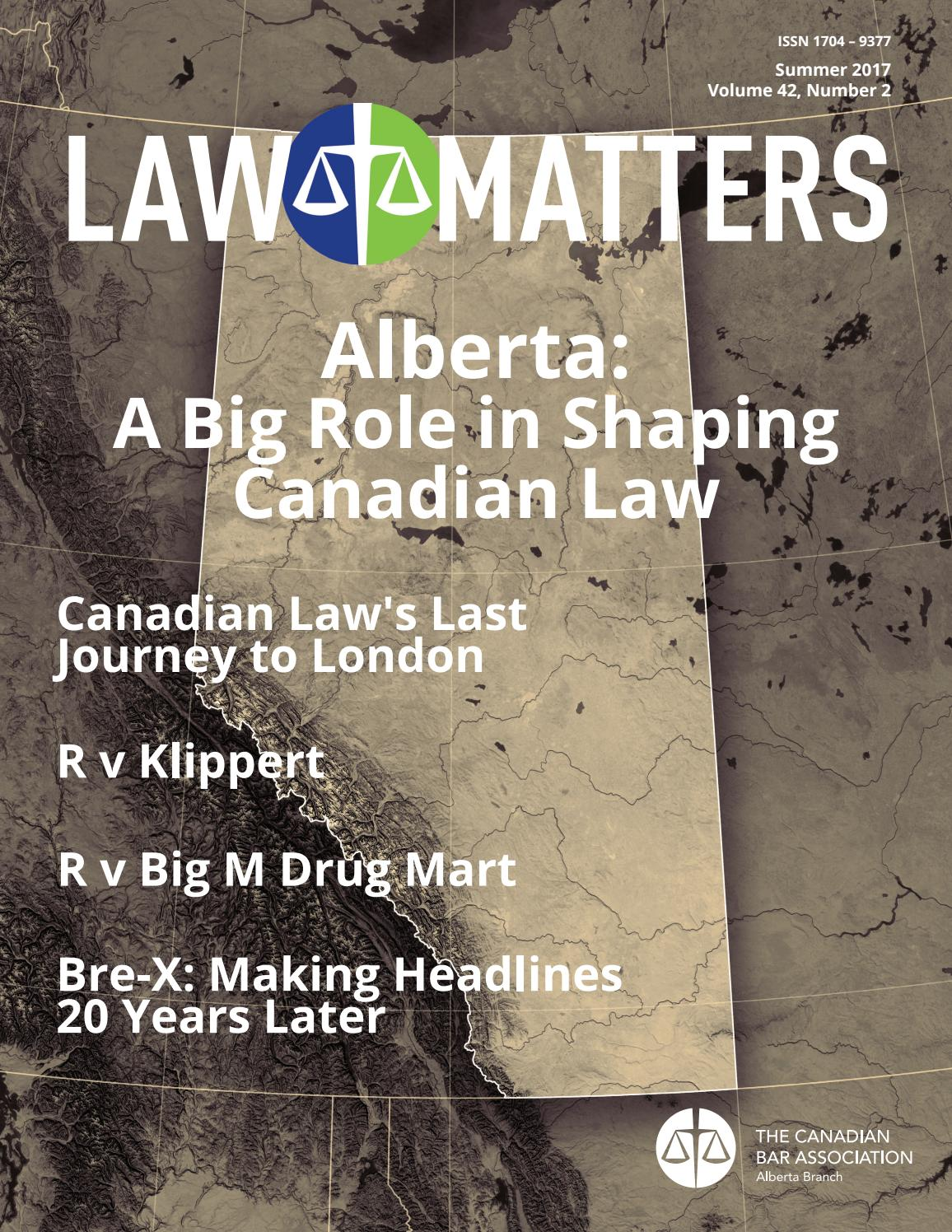 Law Matters Summer 2017 By Canadian Bar Association Alberta Techie Clipboard Recycled Circuit Board Debbyaremdesigns Branch Issuu