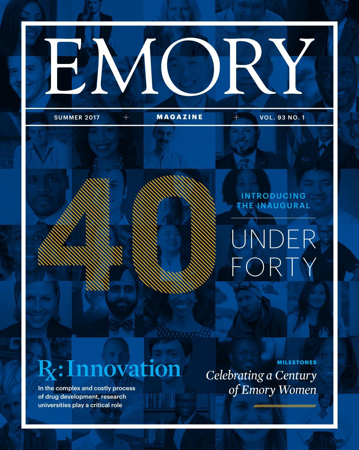 Emory Magazine / Summer 2017 by Emory University - issuu