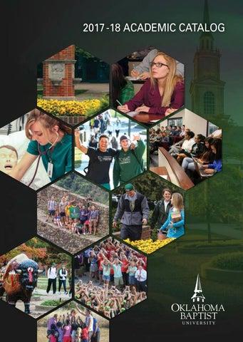2017 18 academic catalog by oklahoma baptist university issuu page 1 fandeluxe Gallery