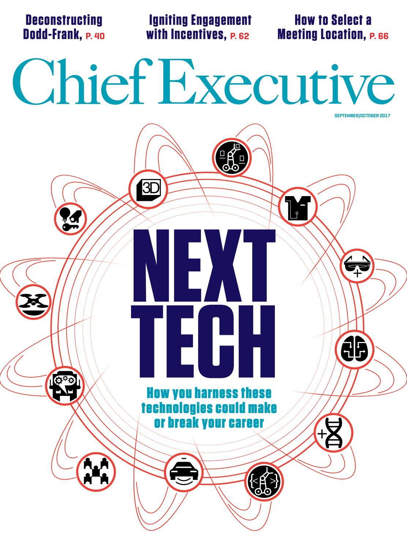 chief executive magazine septoct 2017 - Xecutive Resume Examples