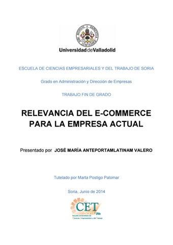 0ff3671fac85e Libro comercio electronico by Juan Jesus Torres Valero - issuu