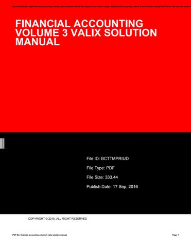 financial accounting theory scott solutions manual