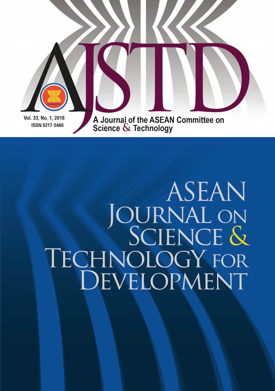 AJSTD 33(1) 2016 by Academy of Sciences Malaysia - issuu