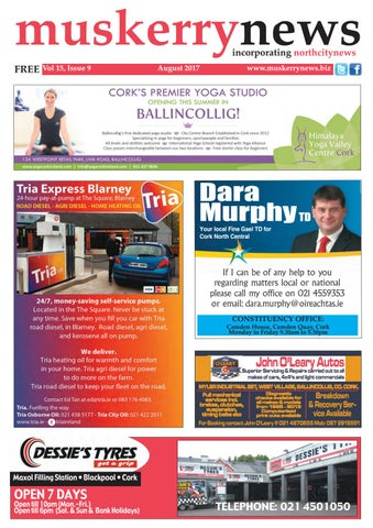 Muskerry News August 2017 by Muskerry News - issuu