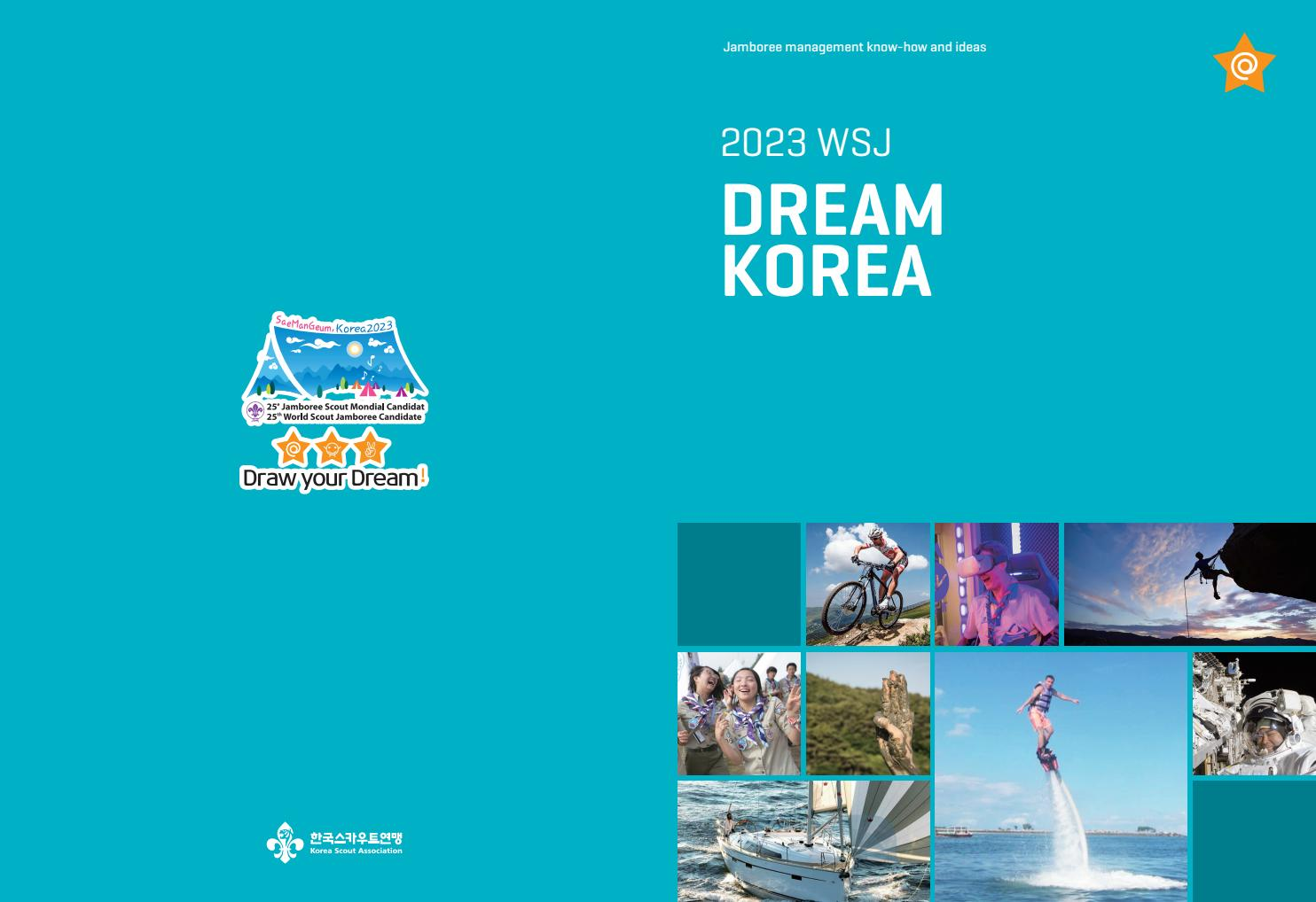 WSJ Korea 2023 Dream Book (English) by 25th World Scout