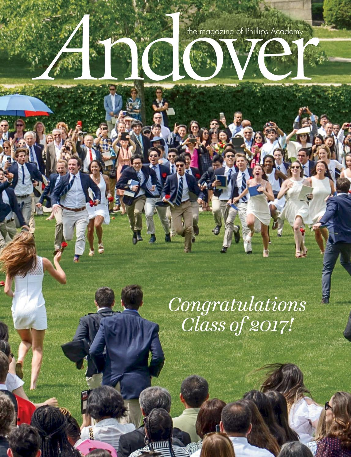 Number 1 Cochran >> Andover magazine - Commencement 2017 by Phillips Academy - Issuu
