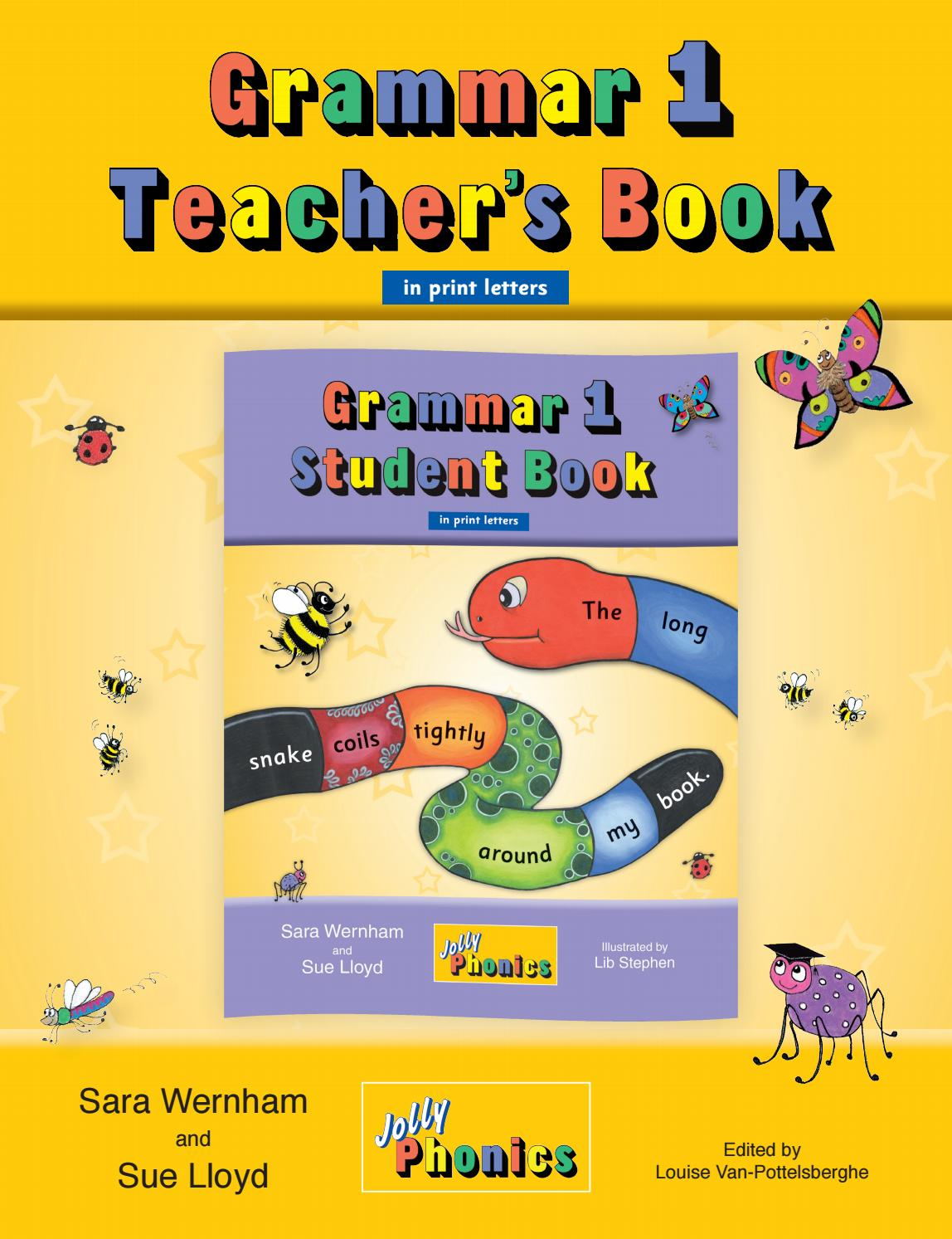 Workbooks jolly phonics workbook 1 free download : Jolly Grammar 1 Teacher's Book (US Print) by Jolly Learning - issuu