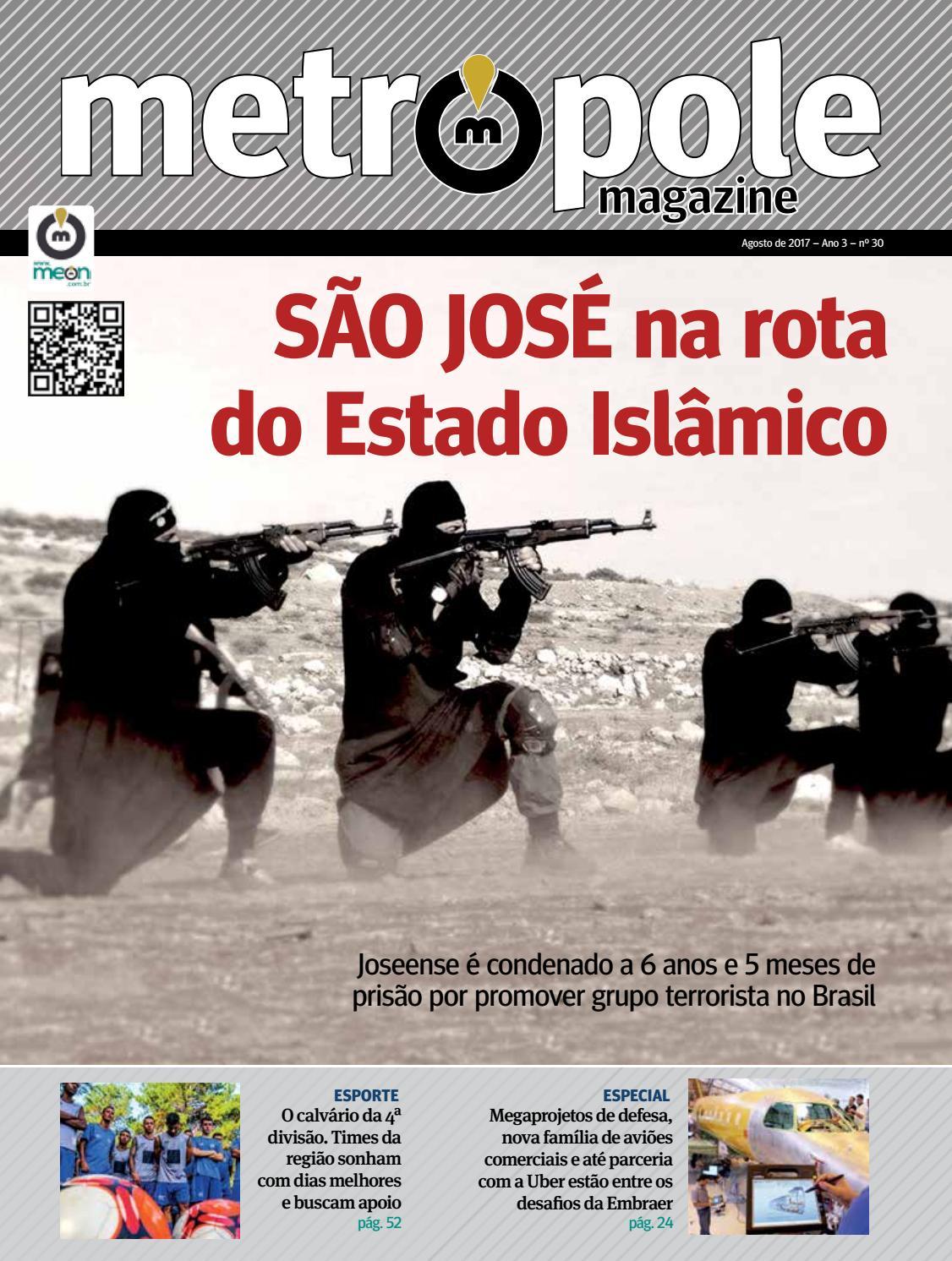 Metrópole Magazine - Agosto de 2017   Edição 30 by Portal Meon - issuu 7c354dc63c264