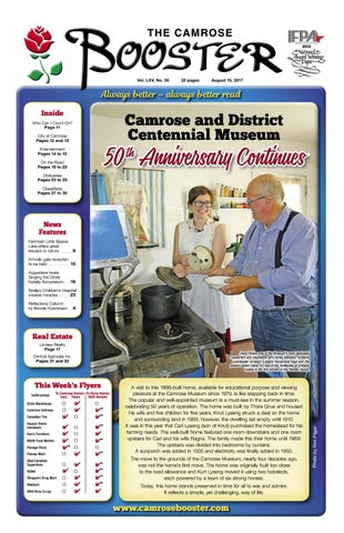 March 14 2017 Camrose Booster By The