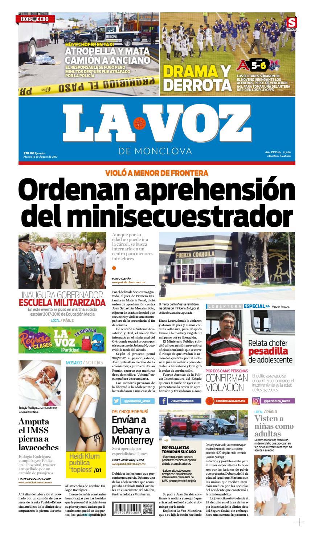 fb5a1539a 15 de agosto by LA VOZ Monclova - issuu