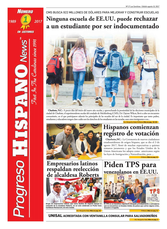 Progreso Hispano News Charlotte NC. Ed#17 08152017 by Progreso ...