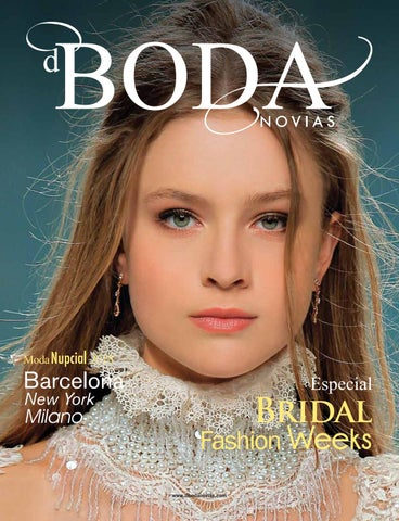 e271a5a9e Revista dBODA Novias Issue XXXV 2 2017 by dBODA Novias - issuu