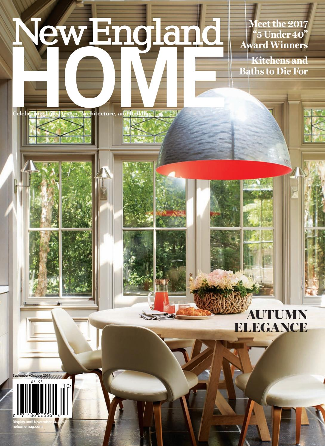 New england home september october 2017 by new england home magazine llc issuu