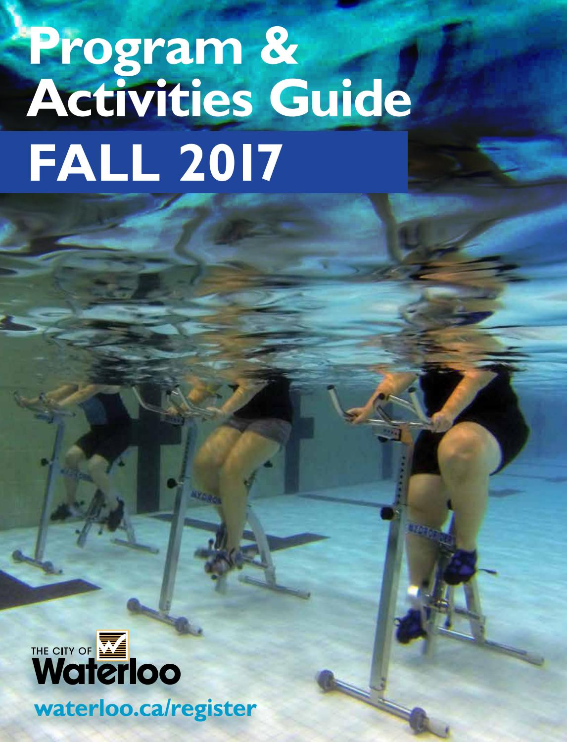 City of Waterloo Program & Activities Guide - Fall 2017 by