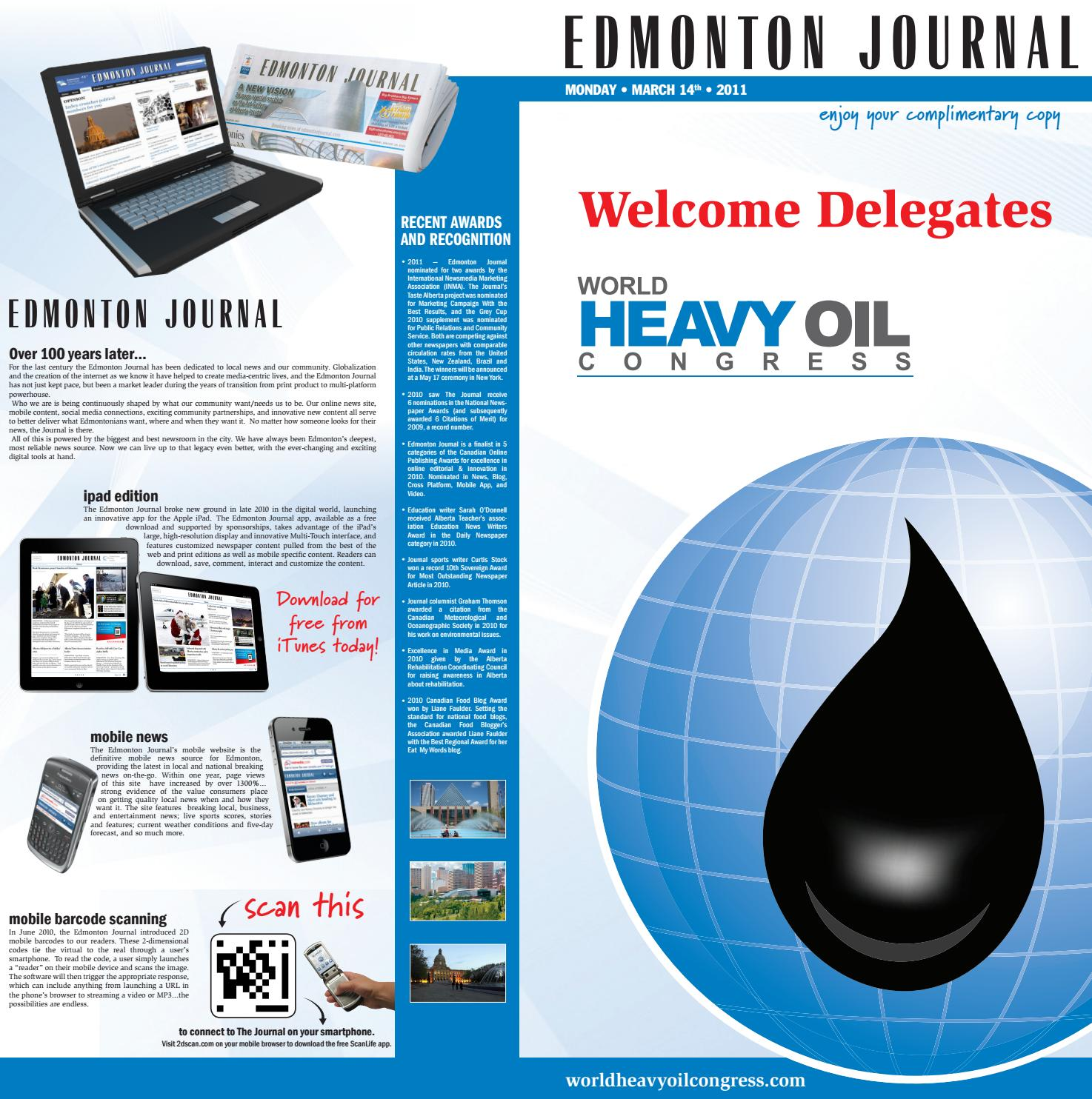 FEATURE | World Heavy Oil Congress by Kelle C | 7th Stranger