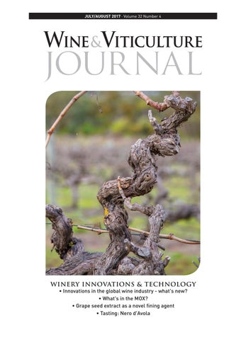 Wine & Viticulture Journal - July/August 2017 by provincial press