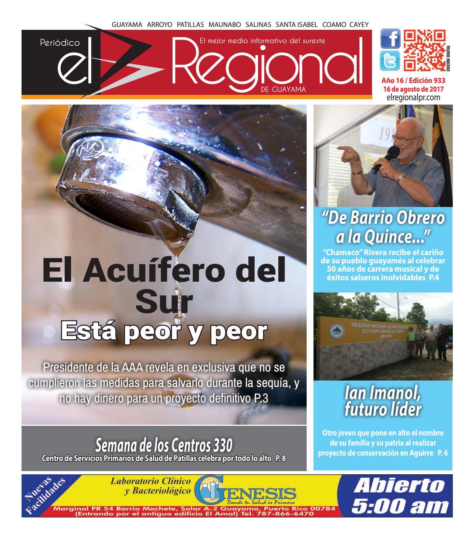 Peri Dico El Regional Edici N 933 By Peri Dico El Regional De  # Ahorro Muebles Cayey