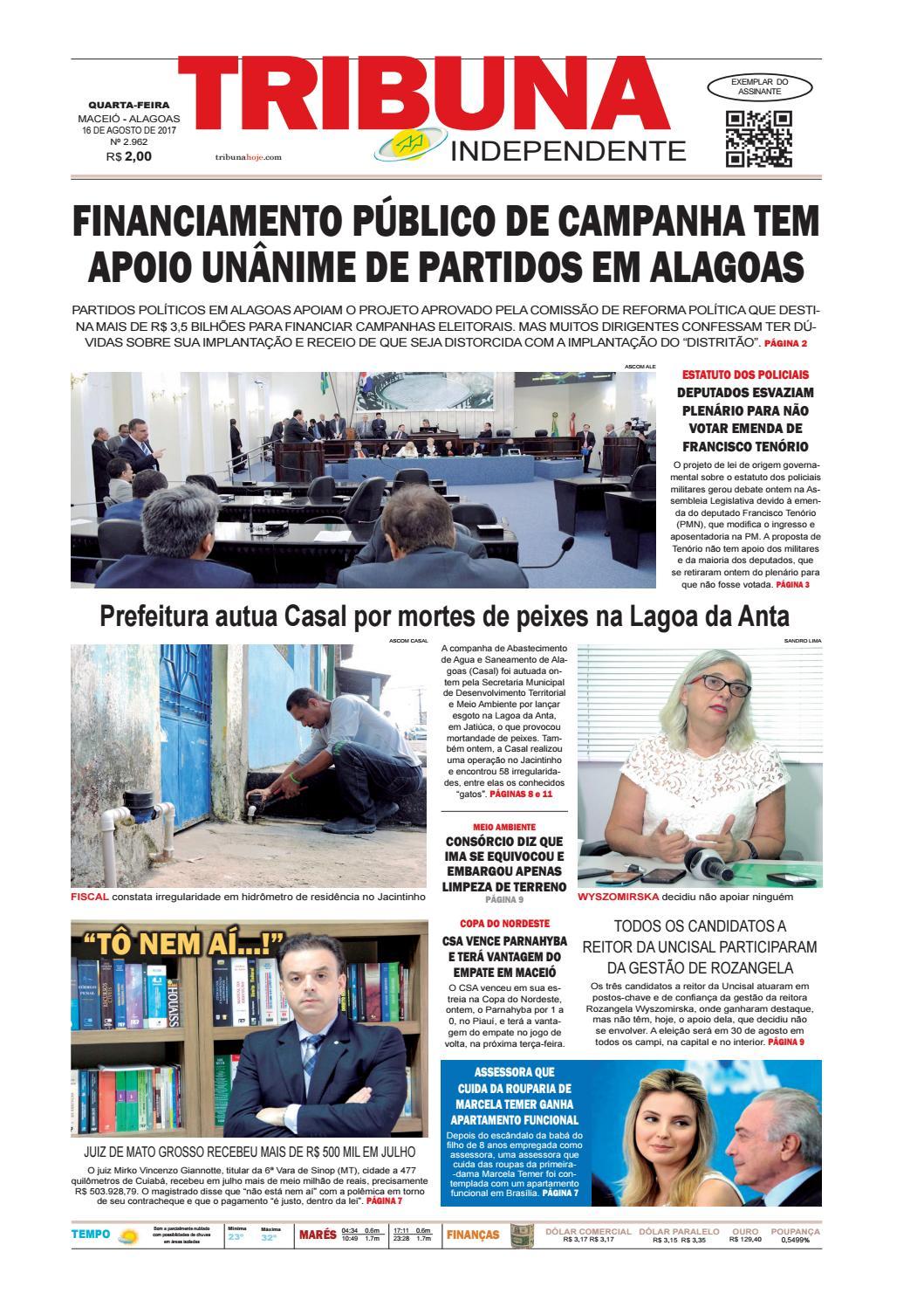 110906b76 Edição número 2962 - 16 de agosto de 2017 by Tribuna Hoje - issuu