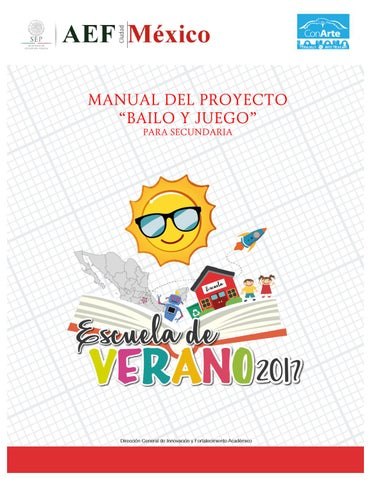 Manual Bailo Juego Secundaria Ev2017 By Victoria Col N