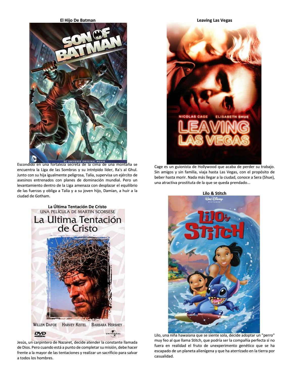 premium selection f071d 30155 Catalogo de peliculas2 by Jebuz - issuu