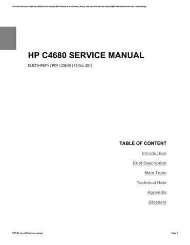hp c4680 service manual by williamfisher4372 issuu rh issuu com hp photosmart c4680 owners manual HP C4795