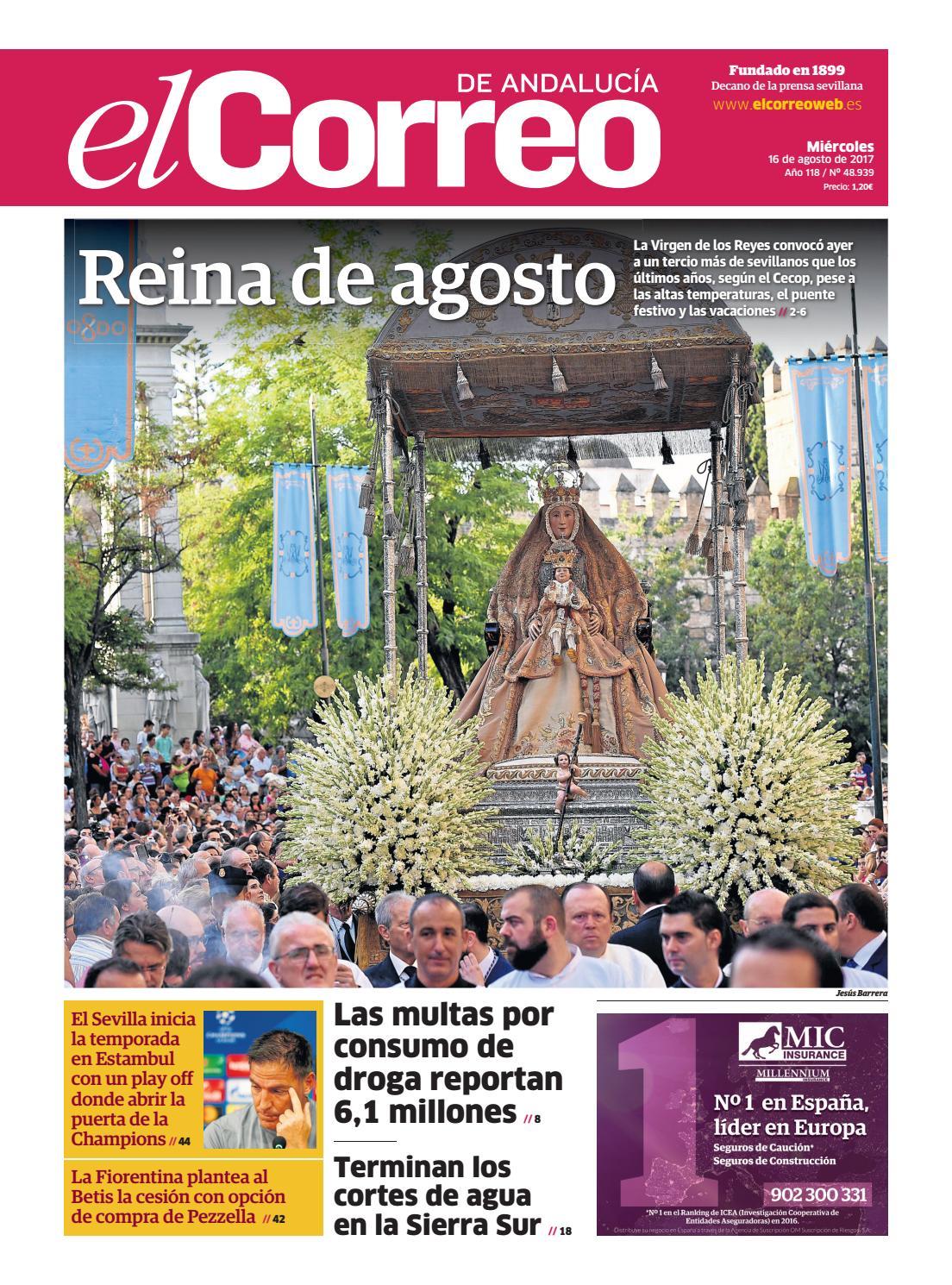 7bd10e605 16.08.2017 El Correo de Andalucía by EL CORREO DE ANDALUCÍA S.L. - issuu